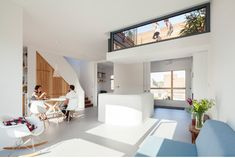 Scenario Architecture Lowers A Ceiling To Create A Sunken Roof Terrace For A London Home | Decor10 Blog