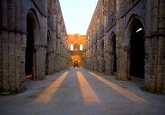 San Galgano Abbey, Tuscany - Italy -
