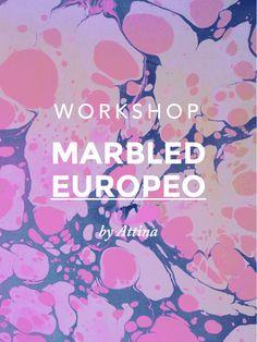 Workshops: - Marbled Suminagashi - Marbled Europeo - Especial Papel  ** Este domingo 23 de febrero en Mutuo centro de Arte, Barcelona **  --> Apúntate en www.attina.info/workshops