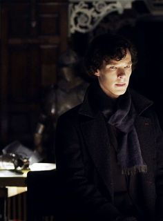 Sherlock looking bored at your intelligence. ;]