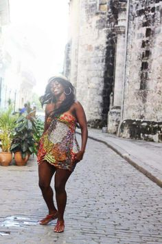 Dancing in the streets of Cuba...carefree!!!