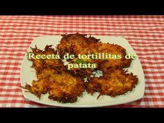 Cómo hacer tortillitas de patata o papas - YouTube