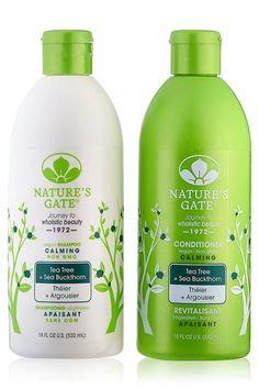 Nature's Gate Tea Tree Calming for Irritated, Flaky Scalp, Duo Set Shampoo and Conditioner, 18 Oz Each Bottle * See this great product. (This is an affiliate link and I receive a commission for the sales) Tea Tree Special Shampoo, Tea Tree Oil Shampoo, Best Tea Tree Oil, Nature's Gate, Australian Tea Tree, Calming Tea, Flaky Scalp, Hair Cleanse, Top