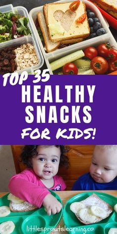 Are you tired of the same ole snacks for kids and wish you had new inspiration for healthy snacks for kids you can feel good about serving? Healthy Fruit Snacks, Healthy Toddler Meals, Toddler Snacks, Healthy Eating Recipes, Healthy Foods To Eat, Healthy Kids, Kids Meals, Real Food Recipes, Baby Recipes