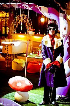 אירוע בהשראת 'צ'ארלי בממלכת השוקולד'  An event themed 'Charlie & the chocolate factory'