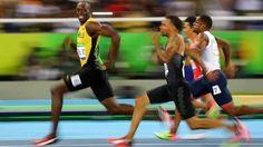 Tu t'entraînes comme un fou pendant 4 ans et #UsainBolt te bat sans forcer et avec le sourire. 3 fois champion olympique du 100m légende ! #rio2016 http://ift.tt/1JupD2h