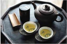 お茶  Tea? No cups of magical water that make you smarter