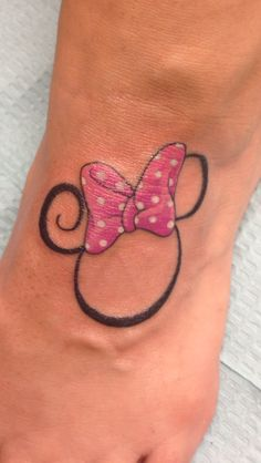 Minnie Tattoo