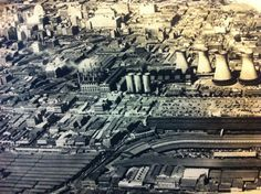 Newtown - cooling towers demolished in Historical Pictures, African History, Aerial View, Picture Show, South Africa, Landscape Photography, Paris Skyline, City Photo, Towers