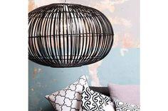 Kopen? Broste Copenhagen bamboo hanglamp Zep zwart L ø48cm