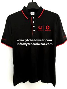 Black polo shirts, short sleeves polo shirts for summer Short Sleeve Polo Shirts, Tee Shirts, Tees, Custom Polo Shirts, Black Polo Shirt, Custom Embroidery, Polo Ralph Lauren, Short Sleeves, Summer