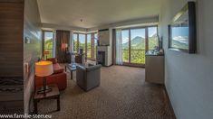 Kempinski Berchtesgaden / Zimmer 200 / Eckerbichl Suite / Wohnbereich