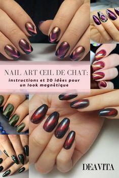Découvrez comment réussir le nail art #œil de chat et inspirez-vous de nos 30 idées superbes! Cette #manucure magique est devenue très #populaire ces derniers temps et sa technique extraordinaire vous ravira! #nailart #nails