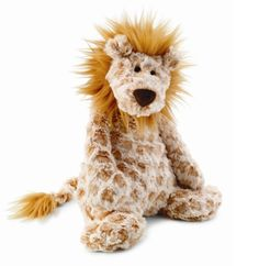This jellycat lion is soft and would be a perfect gift for baby to snuggle
