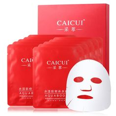 New 10pcs/lot facial mask face skin care moisturizing acne treatment whitening Collagen peeling beauty Whitening