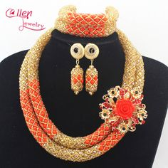 37cf64bd62b47 273 Best NIGERIA BEADED NECKLACES images in 2019 | Beaded jewelry ...