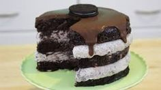 Image result for oreo ice cream cake