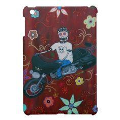 Dia de los Muertos Harley  Davidson Biker iPad Mini Covers