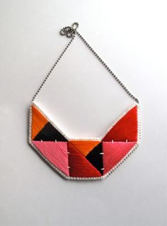Hey, I found this really awesome Etsy listing at https://www.etsy.com/pt/listing/197175541/embroidered-necklace-geometric-bib