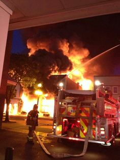 Georgetown,  SC multi alarm commercial structure