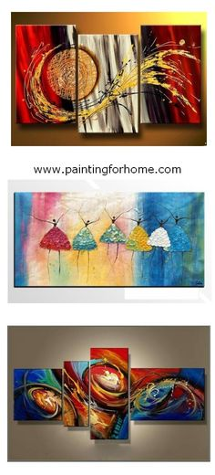 Abstract art painting on canvas, ballet dancer paintings for home decoration. 100% hand painted art painting for sale. #painting #wallart #canvasart #abstract #abstractart #abstractpainting #canvaspainting #largeart