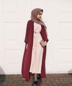 Elegant muslim outift ideas for eid mubarak 53