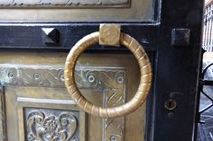 Door handle in Thessaloniki, Greece. Entrance Ways, Door Opener, Thessaloniki, Arches, Door Handles, Greece, Doors, Home Decor, Greece Country