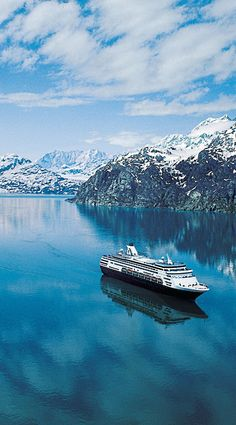 Holland America Alaska cruise. Cruises to Alaska out of Seattle are available on Holland America Line.