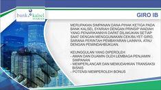 Giro iB Ar Rahman Bank Kalsel Syariah