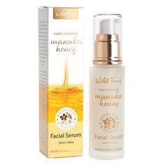 Manuka Gold Facial Serum – Propolis & Royal Jelly 50ml – Wild Fern | Shop New Zealand