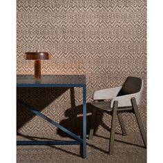 Blu Dot Modern Dining and Office | Strut X-Large Dining Table with Clutch Chair and Punk Lamp