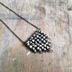 Dalmát jáspis nyaklánc (zsiemankaje) - Meska.hu Pendant Necklace, Jewelry, Fashion, Moda, Jewlery, Jewerly, Fashion Styles, Schmuck, Jewels