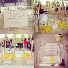 """#flowers #flowerdesign #miseenplace #wedding #weddingdinner #weddingflowers #weddingsluxury #corsoweddingplannerciralombardo #delucafiorinapoli #love #yellow #minimalchic"" Photo taken by @delucafiorinapoli on Instagram, pinned via the InstaPin iOS App! http://www.instapinapp.com (04/30/2016)"