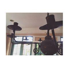 Antique Rusty Chandelier in a Key West Style Home Key West Style, Ceiling Fan, Rust, Chandelier, Antiques, Home Decor, Antiquities, Windmill Ceiling Fan, Candelabra