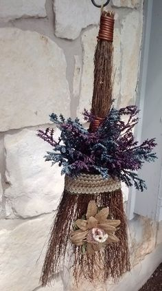 Decorated Cinnamon Broom Make It Yourself For Under 15