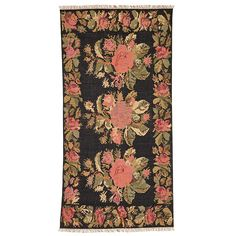 An elegant hand-woven floral cotton rug, featuring oversized, pixelated flowers and fringed edges, for a modern twist on a Turkish design. Turkish Style, Turkish Design, Turkish Fashion, Floral Tie, Floral Design, Joseph Joseph, Master Bedroom Makeover, Home Decor Furniture, Unique Home Decor