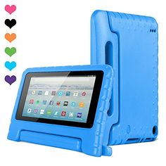 #Fire #Tablet #Case, CAM-ULATA #Kids #Shock #Proof #Light #Weight #Sturdy #Cover for #Amazon #Fire #7 #Inch #Display #5th #Generation #2015 #Release Only Perfect fit #Amazon Kindle #Fire #7 #inch #display #5th #Generation #2015 #Release Only, and not compatible with any other models.Built-in handle feature doubles as a stand support for hands-free #display. Built-in handle feature doubles as a stand support for hands-free #display. A #case designed to protect against big drop