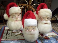 woolen felt santas | Needle Felted Santa Online Video Workshop | Learn Needle Felting