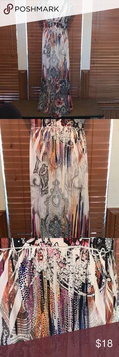 Long sleeveless dress Beautiful hemmed dress. Dresses