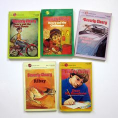 Beverly Cleary books- remember Henry Huggins?