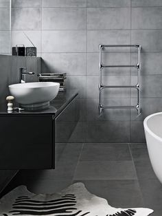 Get inspired with these gray bathroom decorating ideas. Restroom ideas, Gray bathroom walls, Half bathroom decor,Grey bathrooms inspiration, Classic grey bathrooms and Images of bathrooms. Granite Bathroom, Grey Bathroom Tiles, Gray Bathroom Decor, Grey Tiles, Ensuite Bathrooms, Grey Bathrooms, Bathroom Renos, Bathroom Layout, White Bathroom