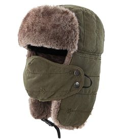 online shopping for Connectyle Warm Trapper Hat Windproof Winter Russian Hats Mask Ushanka Hat from top store. See new offer for Connectyle Warm Trapper Hat Windproof Winter Russian Hats Mask Ushanka Hat High Leather Boots, Black Ankle Boots, Style Russe, Russian Hat, Tactical Wear, Cold Weather Gear, Aviator Hat, Hunting Hat, Mermaid Tails