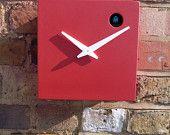 Double grey cuckoo clock by pedromealha on Etsy