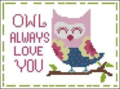 Looking for your next project? You're going to love Hooties Owl Always Love You by designer pinoystitch. - via @Craftsy