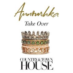 TAKEOVER KLAXON: Annoushka is running the @countryandtownhouse instagram tomorrow - see you there! #CTHxAnnoushka