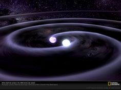 White Dwarf Star Spirals. About 1,600 light-years away, two dense white dwarfs in the J0806 binary star system orbit each other once every 321 seconds. When they reach the end of their long evolutions, smaller stars typically become white dwarfs.