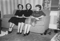 Bruner Sisters: Ardella Berneice, Gertrude Patricia and Harriet Dolores