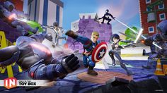 Today sees Disney officially release the first Disney Infinity play set of Marvel Battlegrounds, which includes Captain America, in North [. Disney Infinity, Bioshock, Pokemon Go, News Games, Video Games, Video Game Reviews, Game Character Design, New Trailers, Dragons