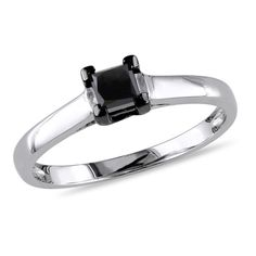 1000 Images About Black Diamond Engagement Rings On