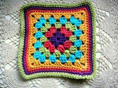 LINDEVROUWSWEB: Oma´s vierkanten - Granny´s squares